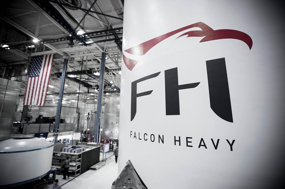 Falcon Heavy interstage (SpaceX)
