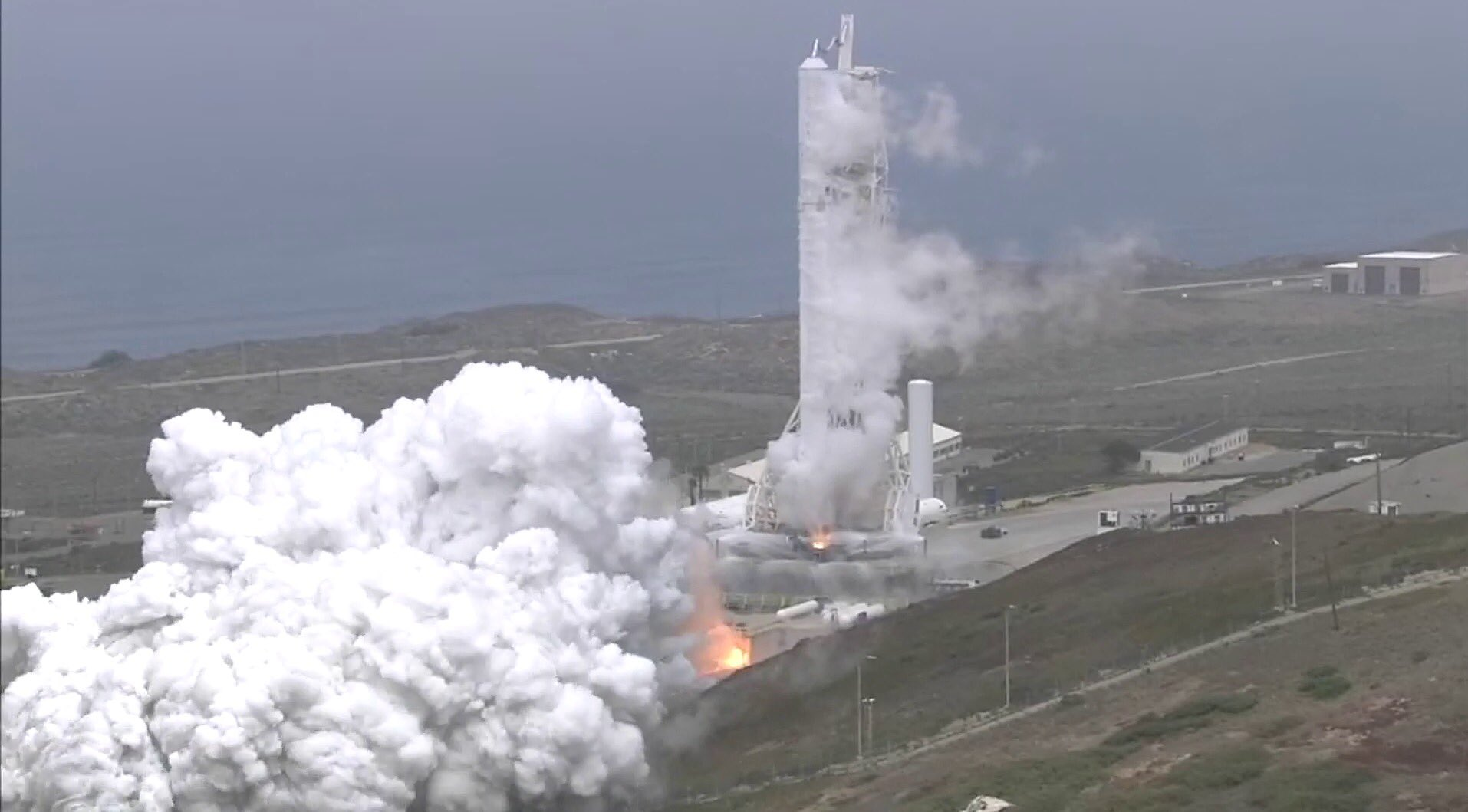 Formosat-5 static fire (SpaceX)