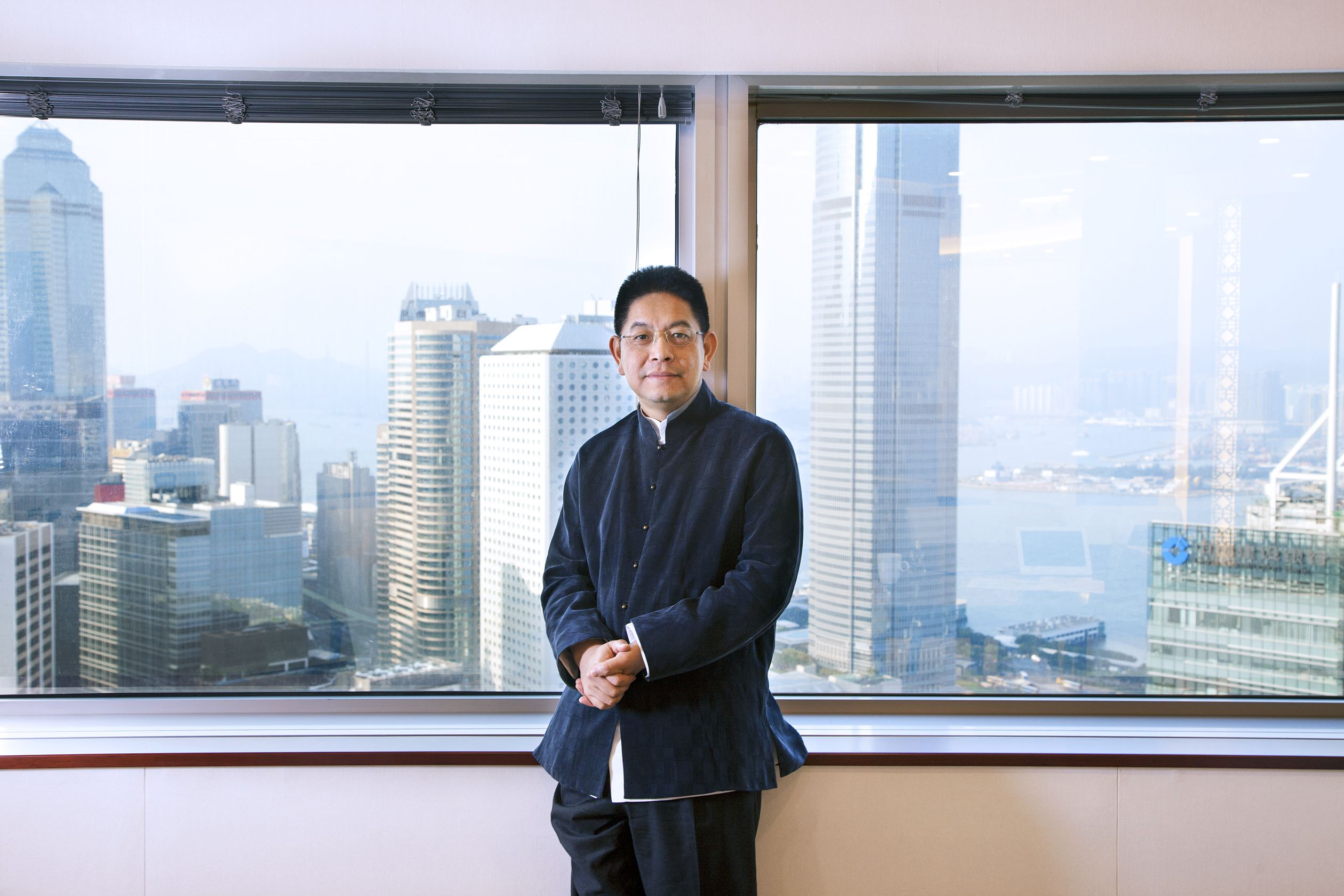 Mr Sonny Wu GSR Ventures(New office, Bank of China Tower HK)