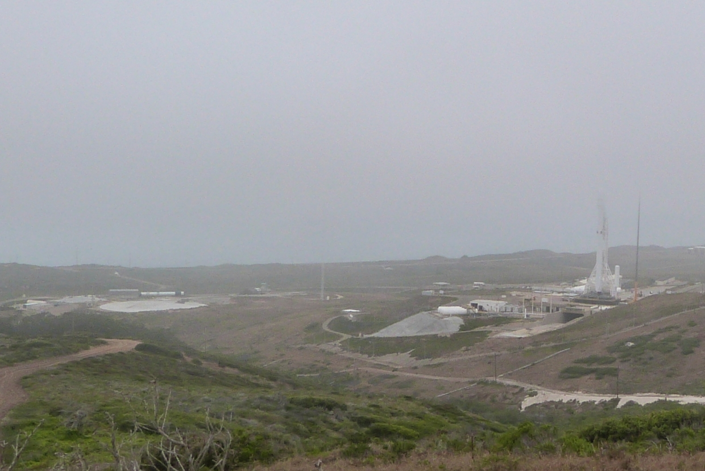 SpaceX landing pad VAFB (NASASpaceflight)