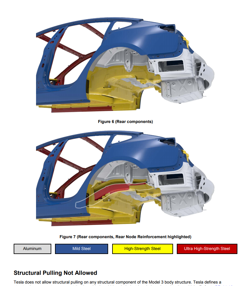Tesla Model 3s Body Structure Is A Strategic Blend Of Aluminum And