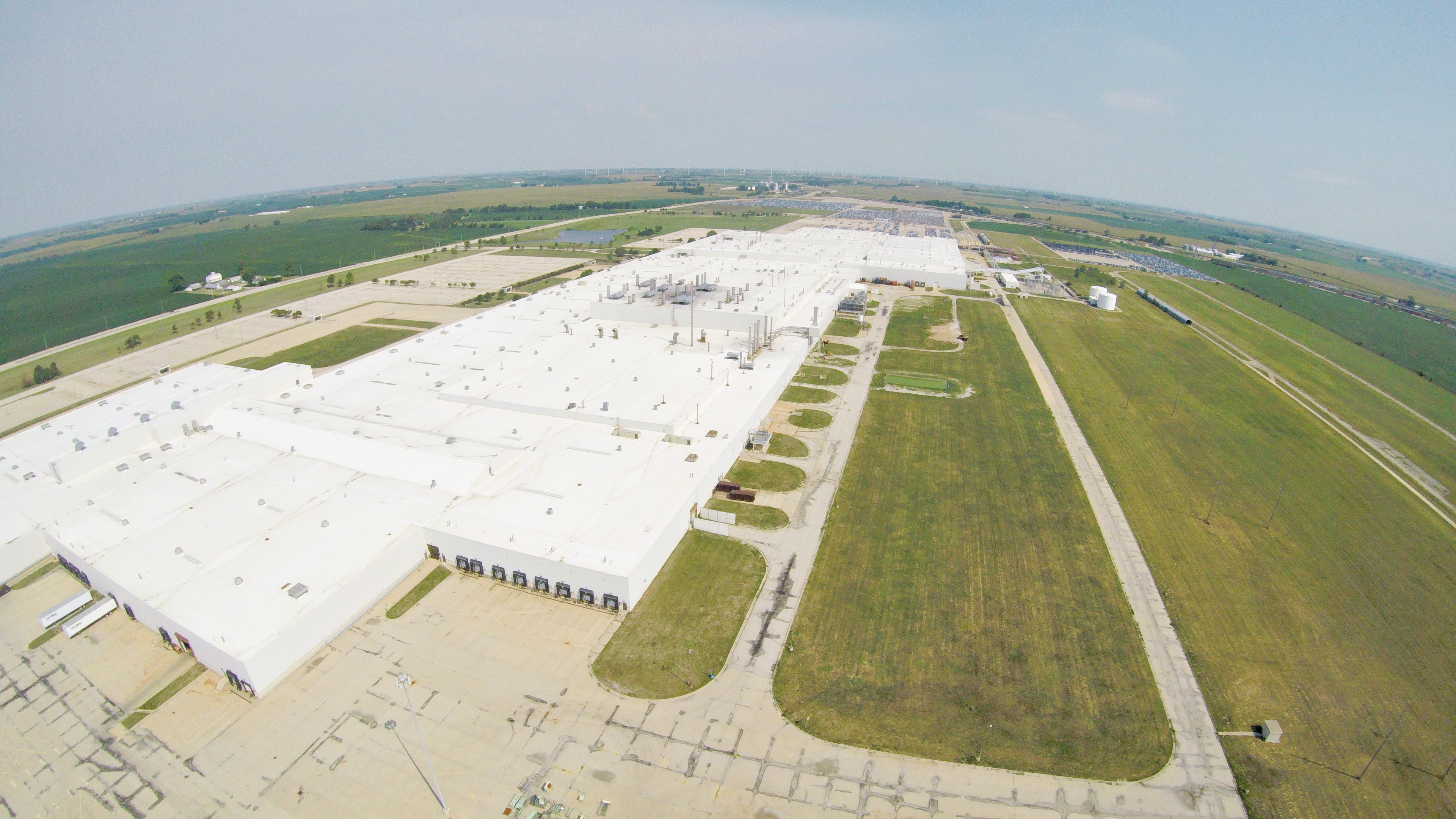 Rivian Automotive factory in Normal, Illinois