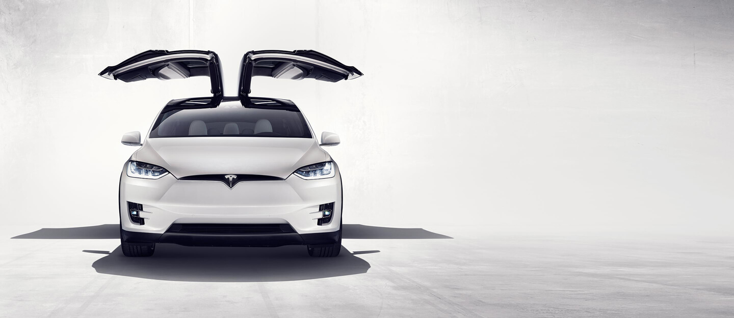 Model X Falcon Wing door