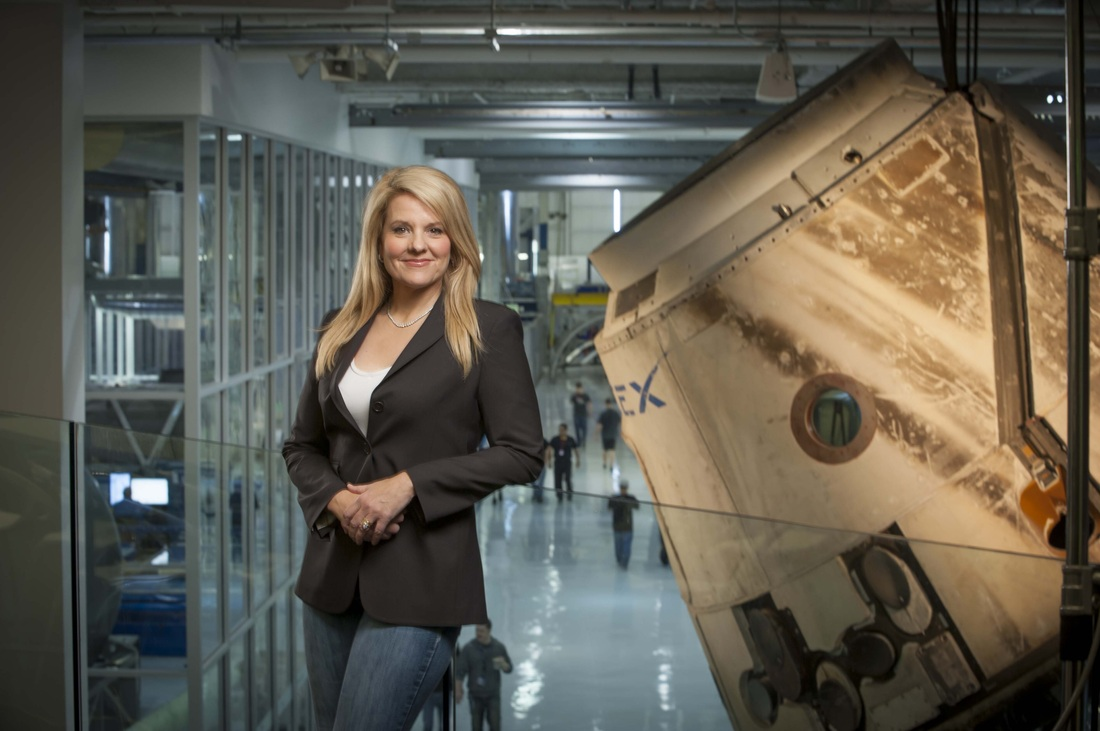 SpaceX's Gwynne Shotwell makes Time Magazine's 100 Most Influential People list for 2020