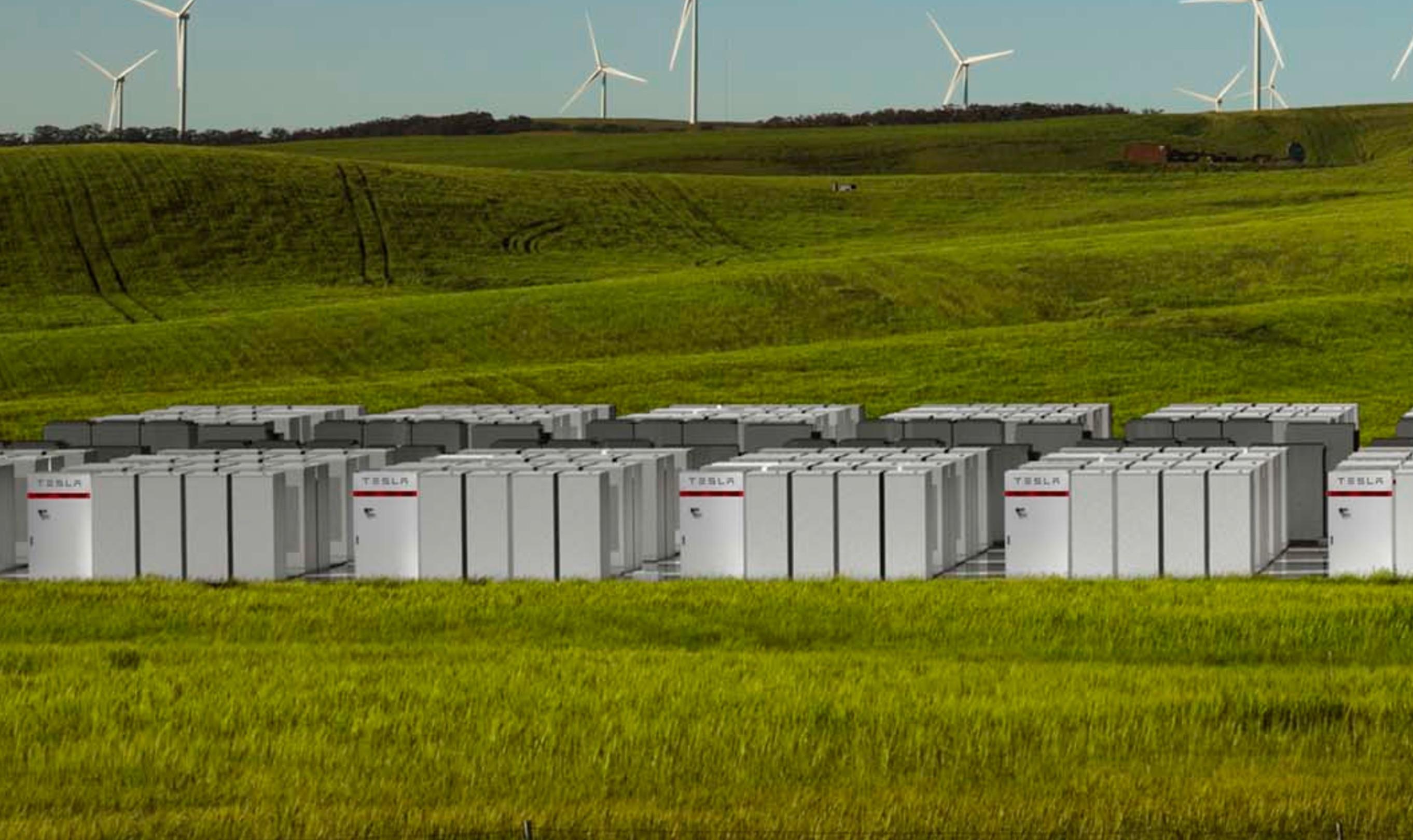 A Tesla ausztrál akkumulátor farmja