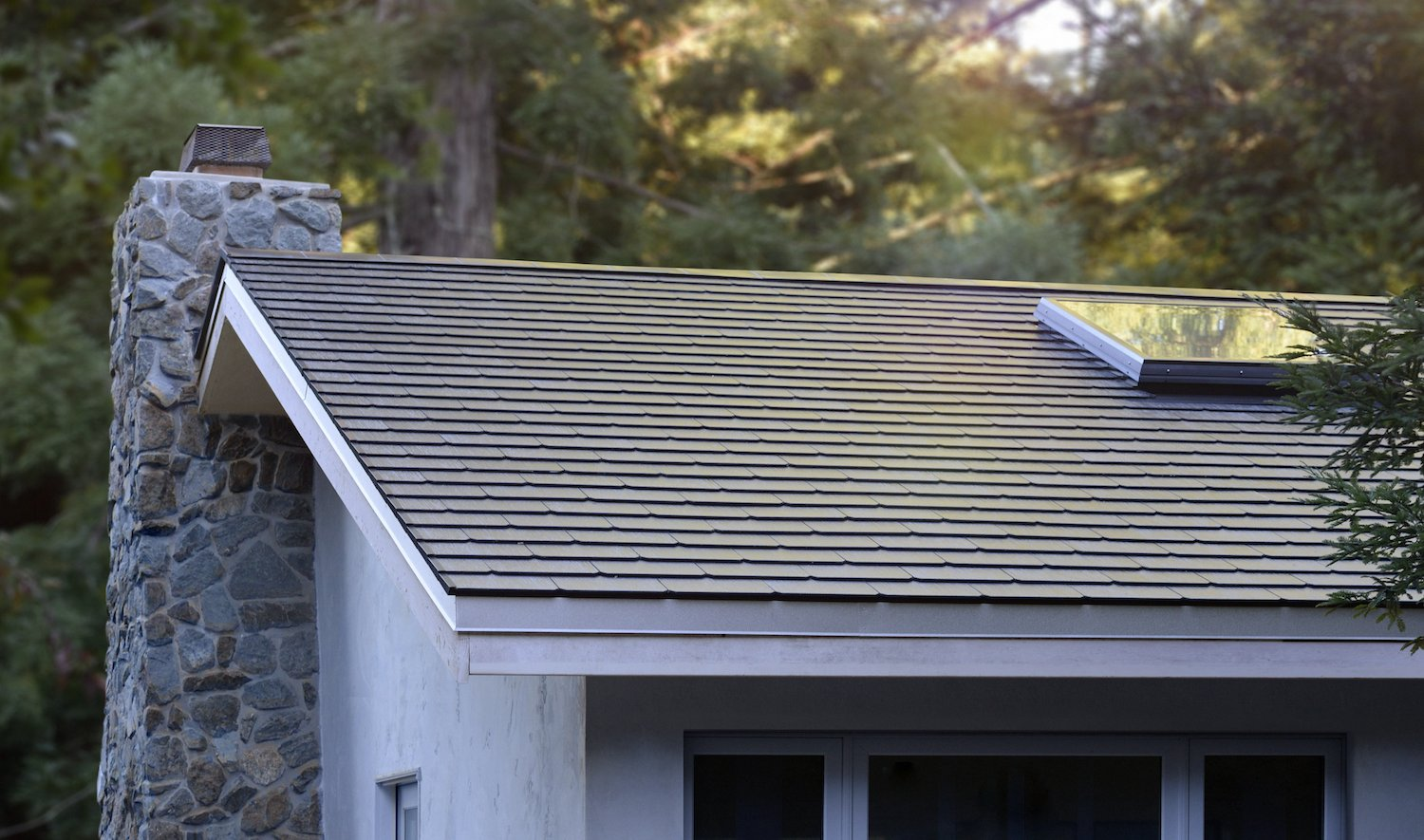tesla completes first solar roof installations on employee homes pilot production remains at. Black Bedroom Furniture Sets. Home Design Ideas
