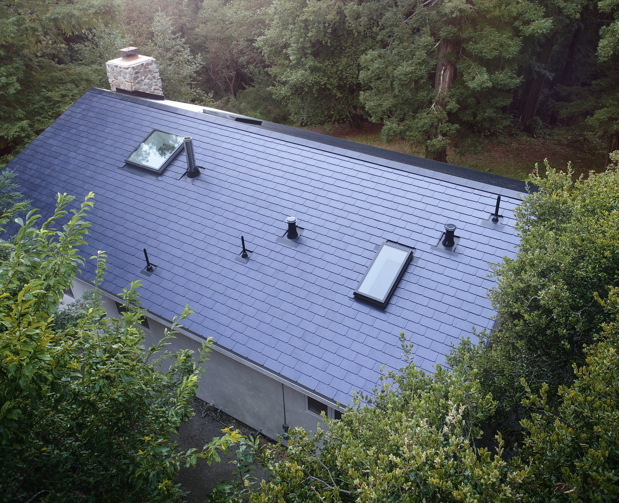 Tesla Solar Roof Calculator >> Tesla S Solar Roof Patent Reveals Conductive Paste Used For Tile