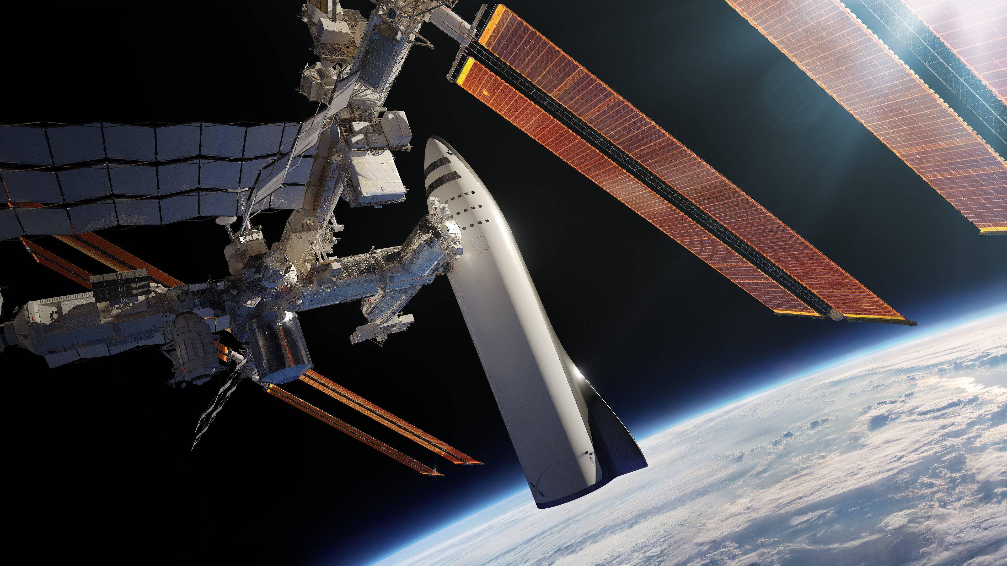 BFR and ISS (SpaceX)