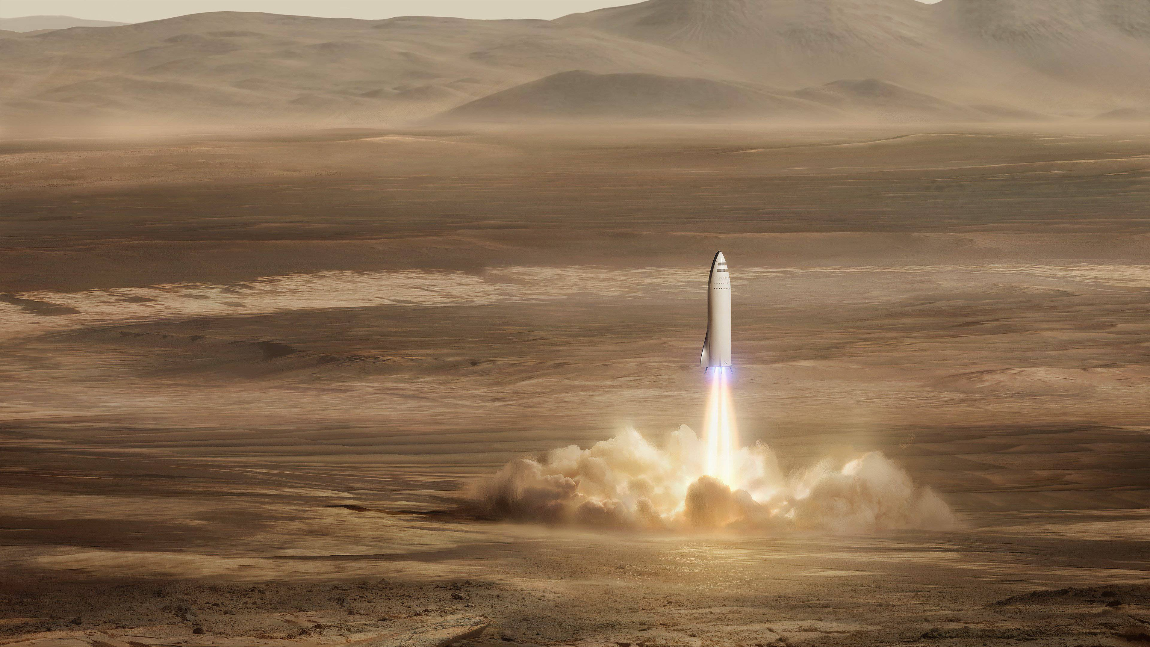 BFR to Mars (SpaceX)_