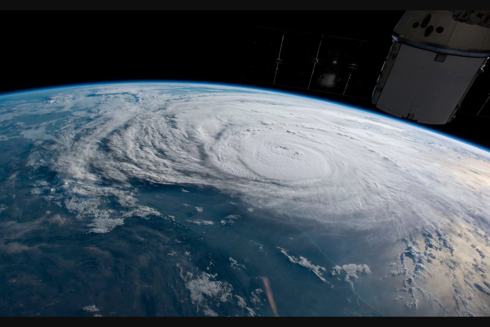 Harvey and a Dragon (NASA)