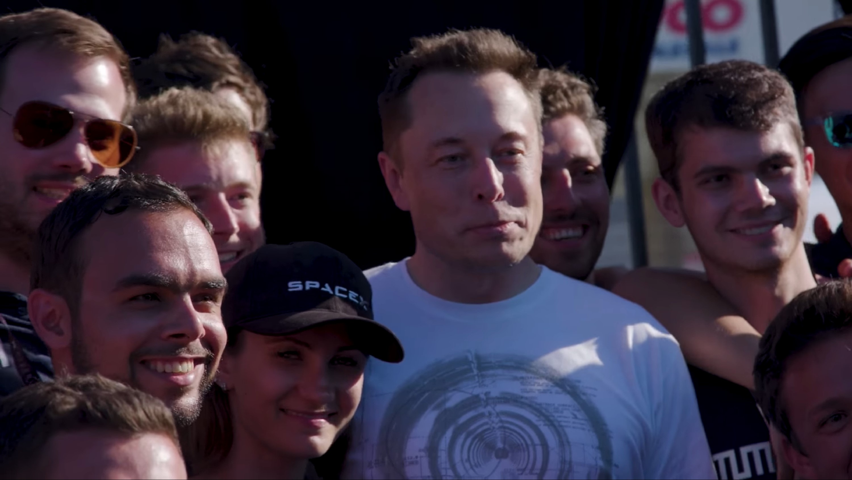 Musk and WARR Hyperloop (SpaceX)