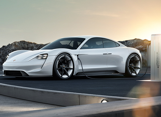 Porsche's Mission E almost stacks up against Tesla's Model S in