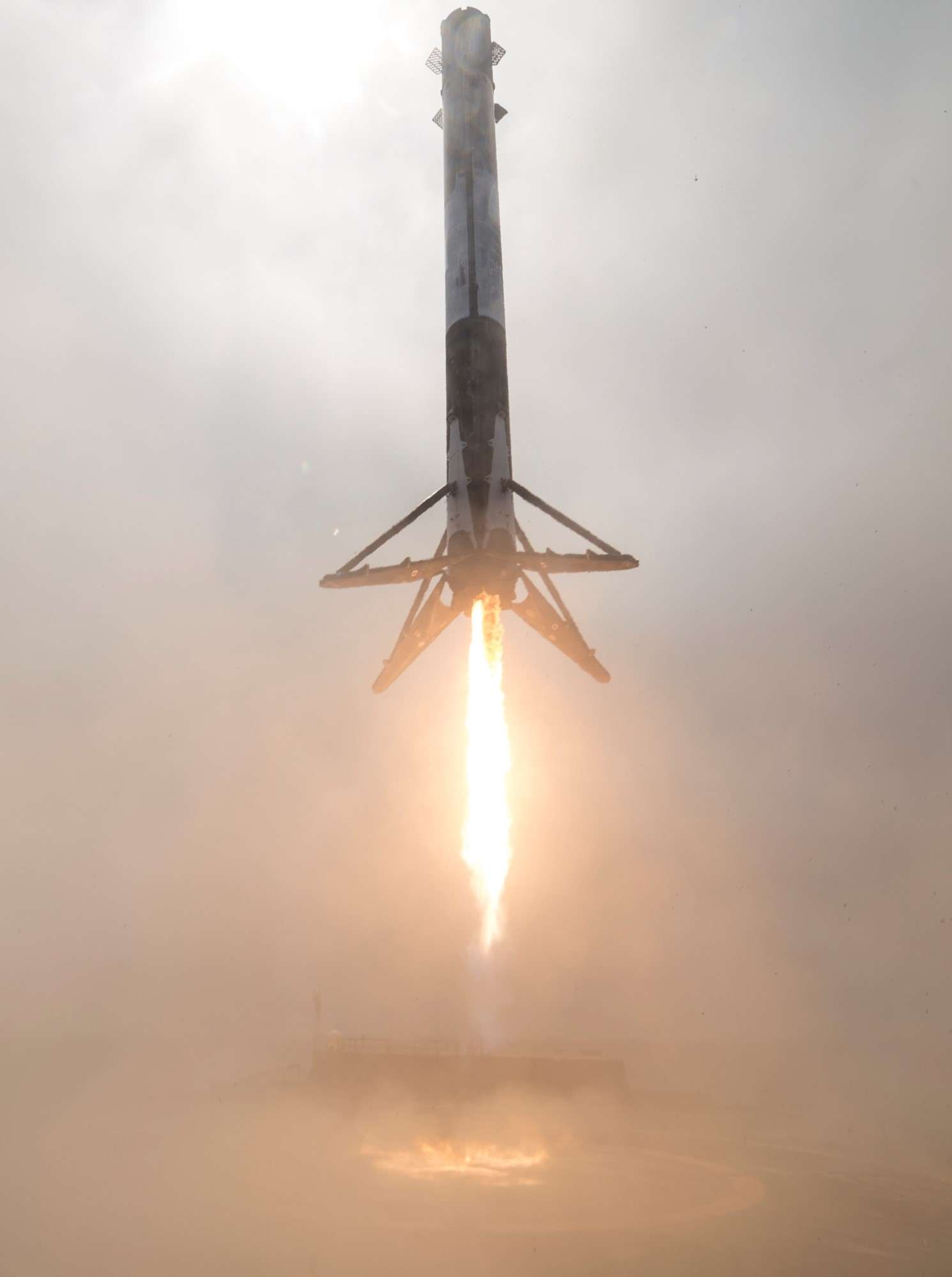 SpaceX Formosat5 1038 landing (SpaceX)