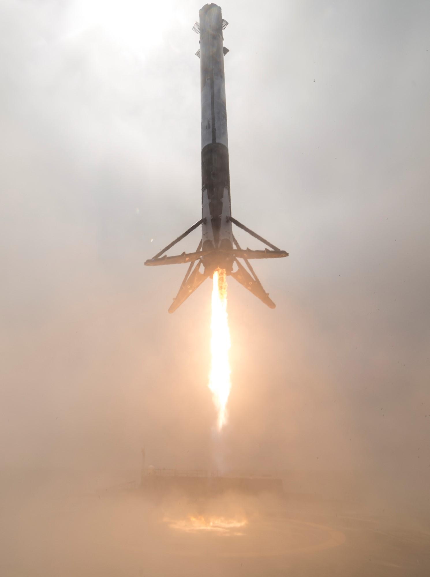 SpaceX Formosat5 1038 landing (SpaceX)