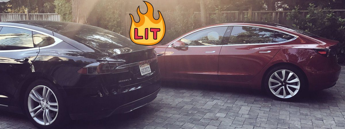 Tesla Model 3 Model S Compare