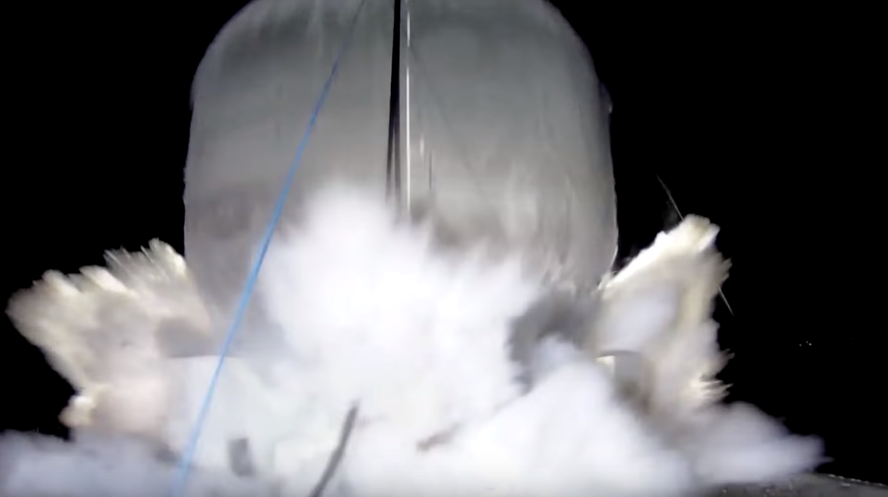 carbon fiber tank test 2 (SpaceX)