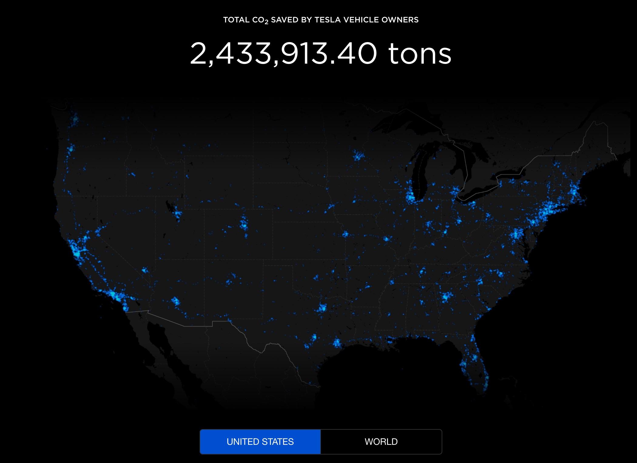 tesla-carbon-emissions-offset-map