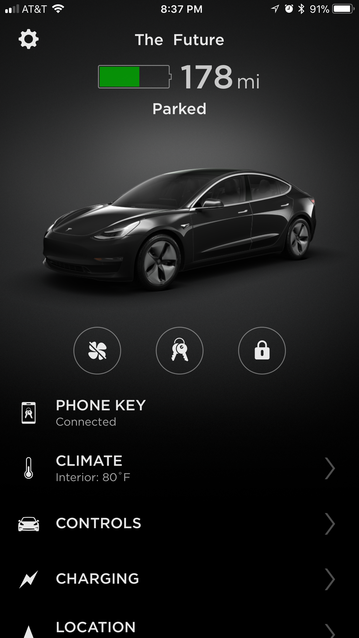 tesla-model-3-app-climate-charging