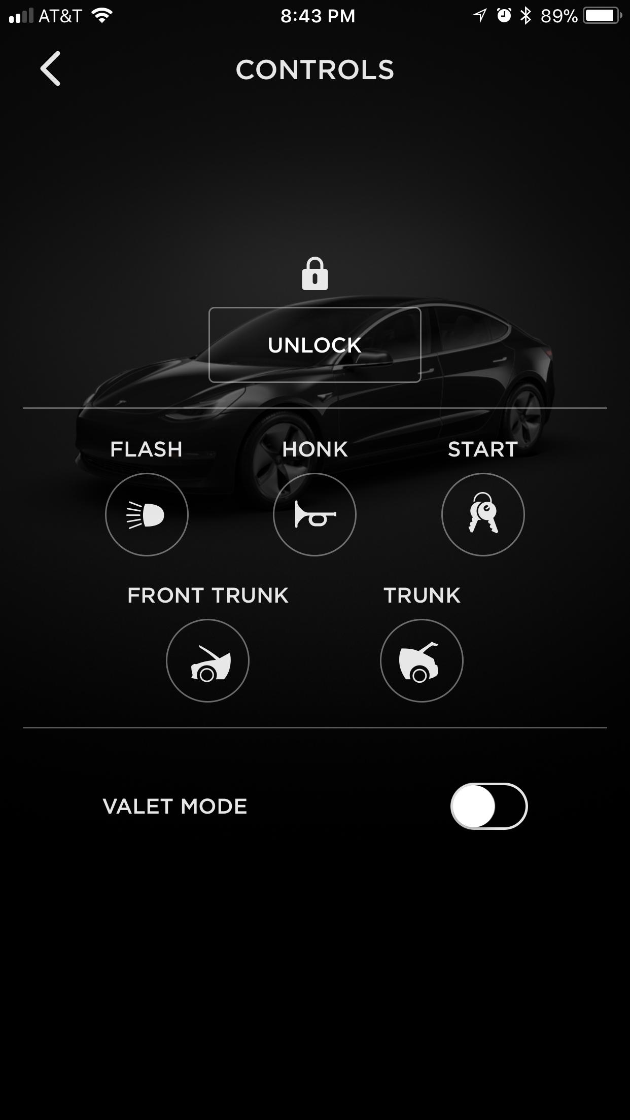 Tesla Model 3 App Controls TESLARATI