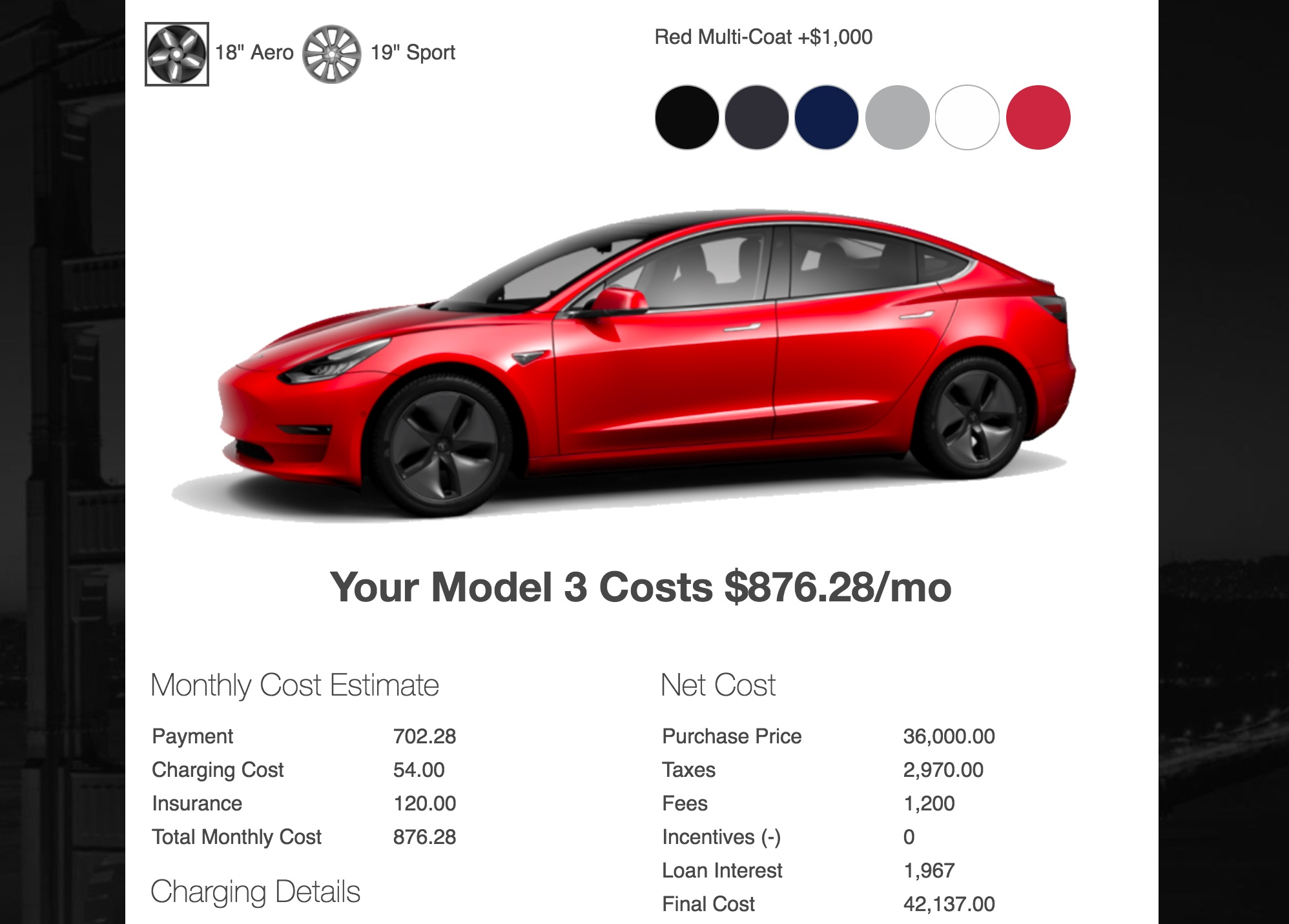 tesla model 3 will cost 900 month suggests survey data aero wheels surprisingly popular. Black Bedroom Furniture Sets. Home Design Ideas
