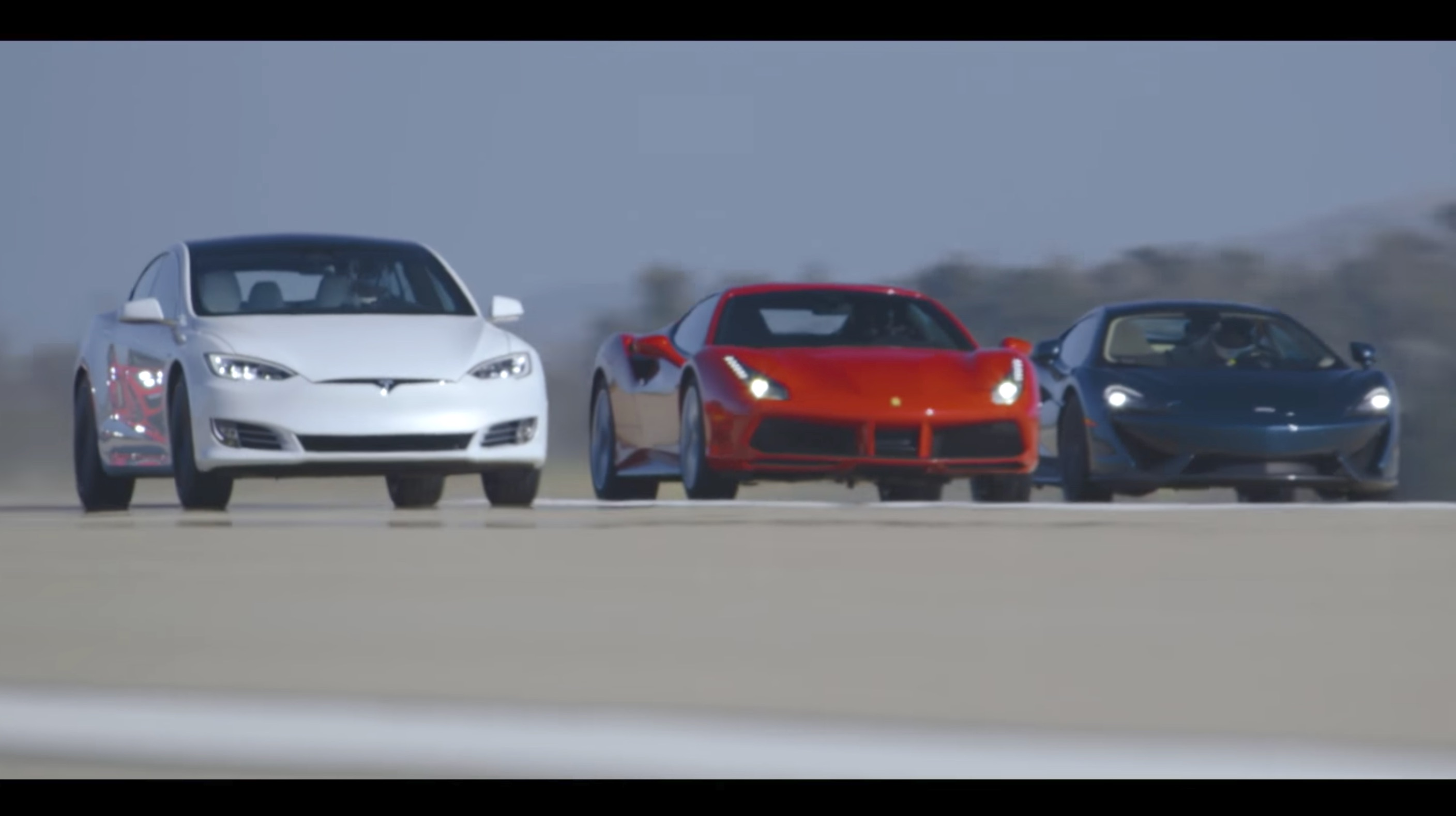 Tesla Model S P100d Wins Motor Trend World Greatest Drag Race
