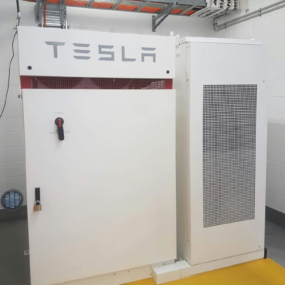 tesla-powerpack-logan-water-treatment-australia