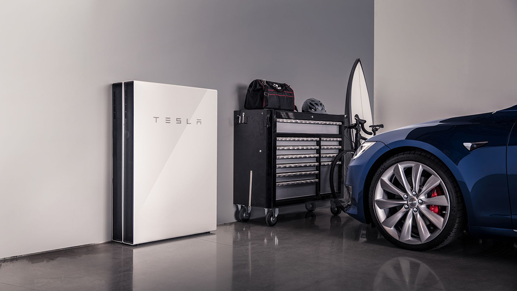 TESLA Power Wall Home Charging Station