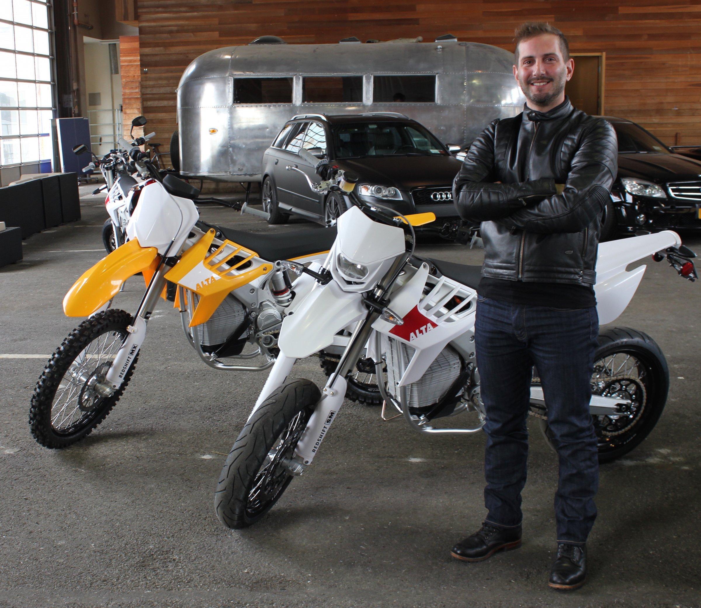 Alta Motors Marc Fenigstein