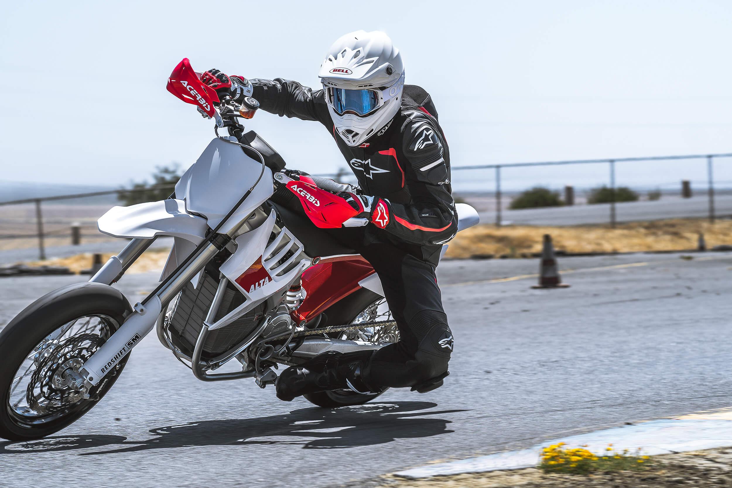 Alta Motors Motorcycle Electric