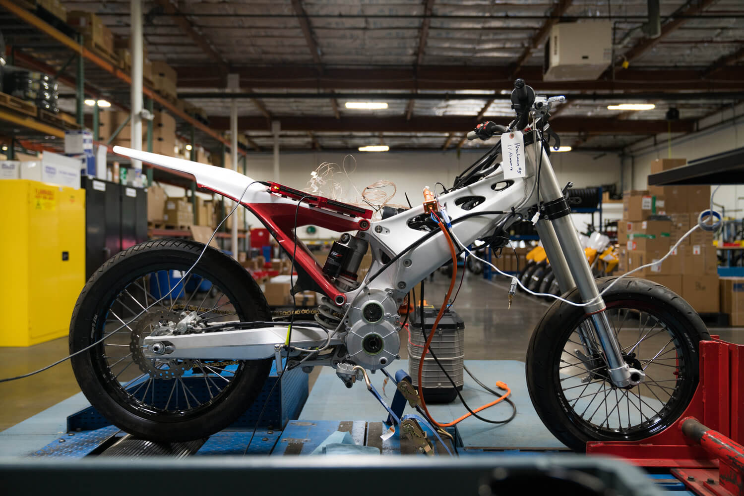 Alta motors Build Electronics