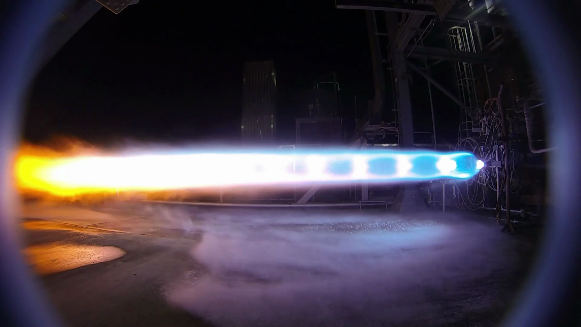 BE-4 subscale test (Blue Origin)