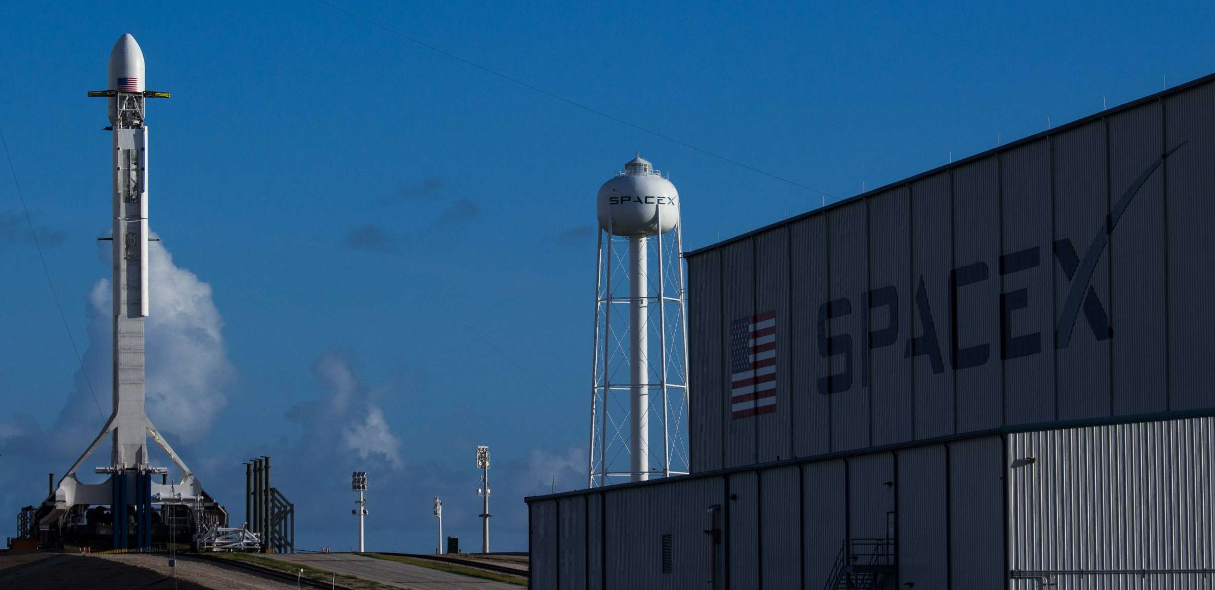 Falcon 9 SES-11 (Tom Cross)