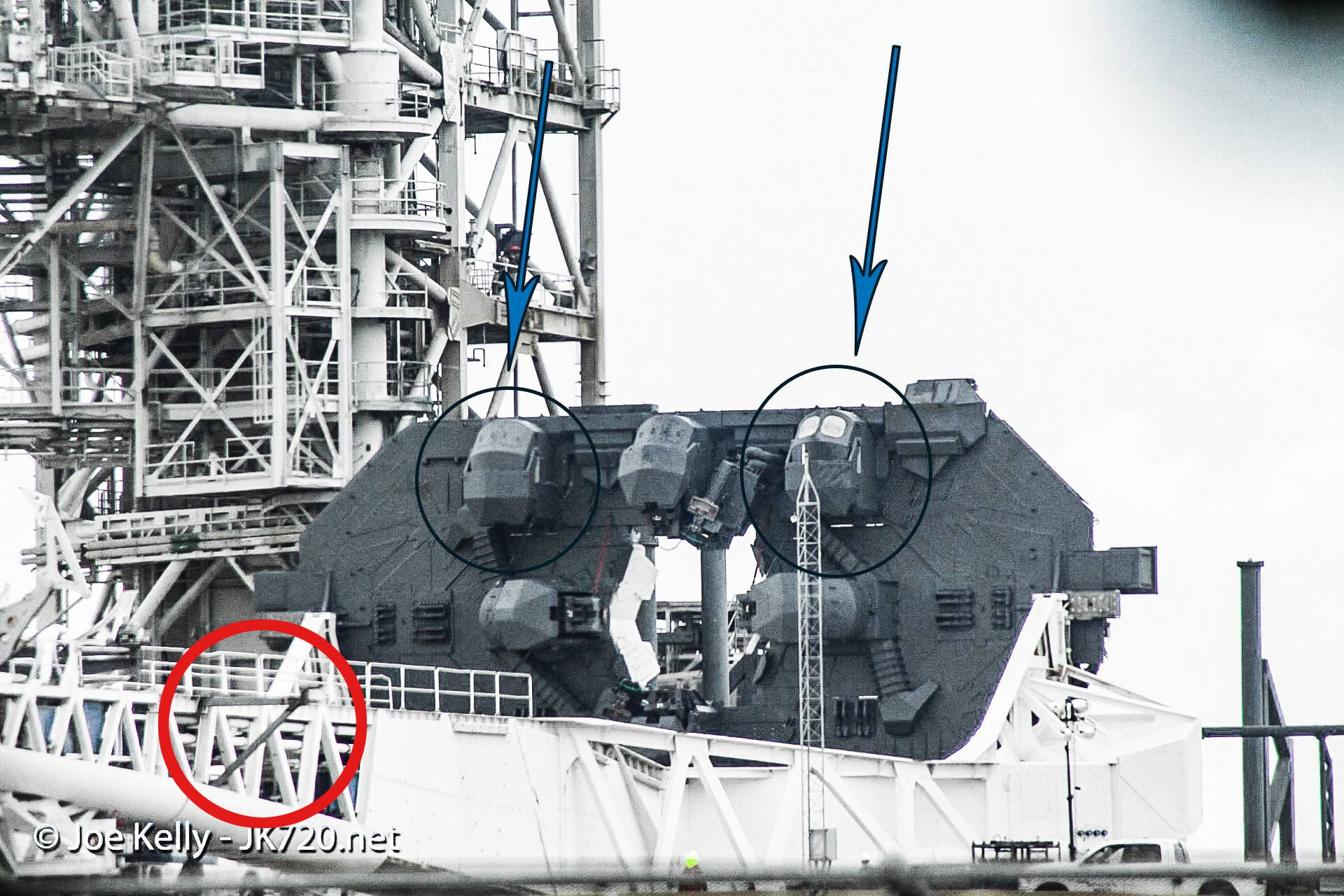 Falcon Heavy TEL mods (Joe Kelly)