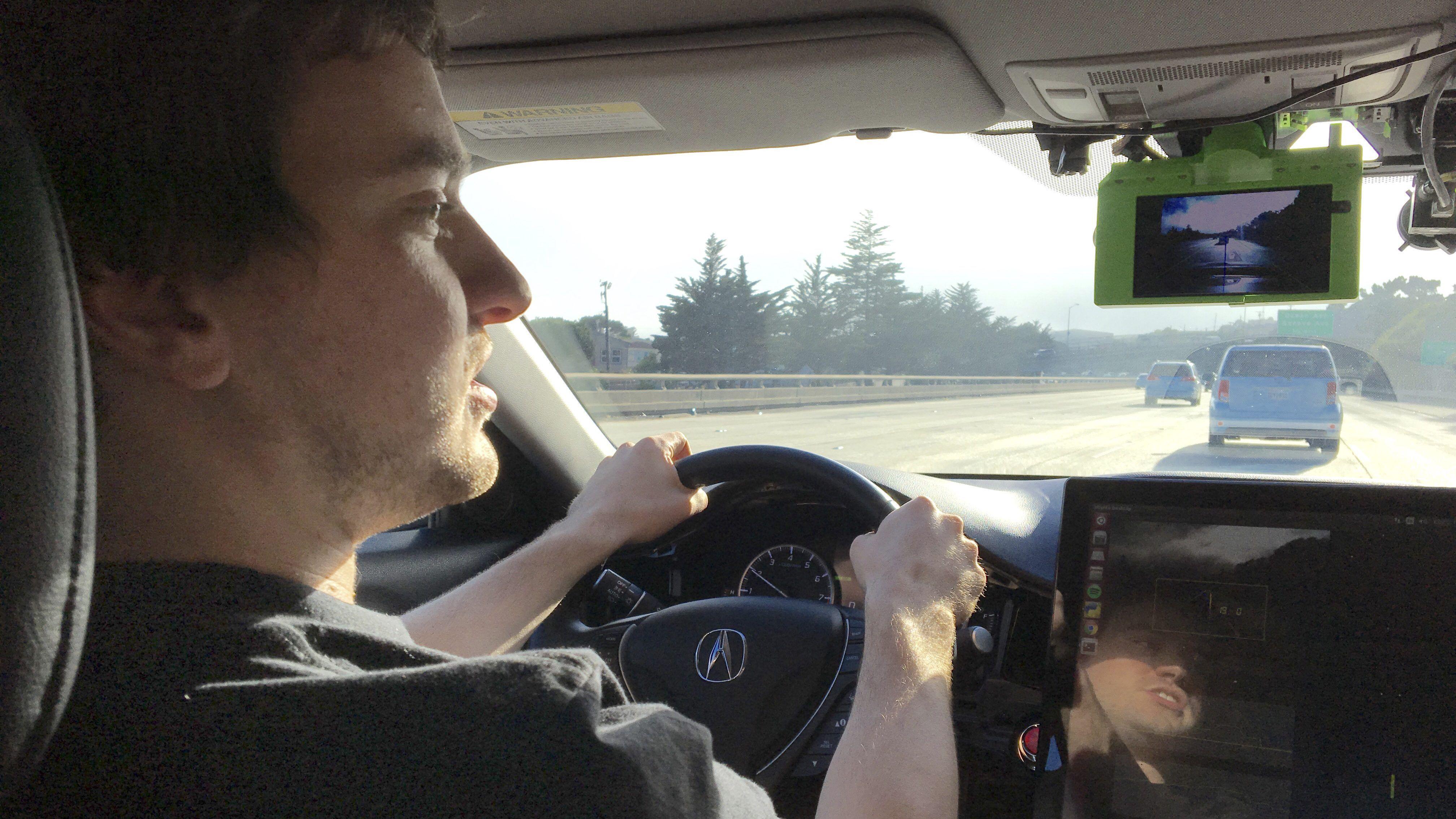 George Hotz Comma.ai autonomous car