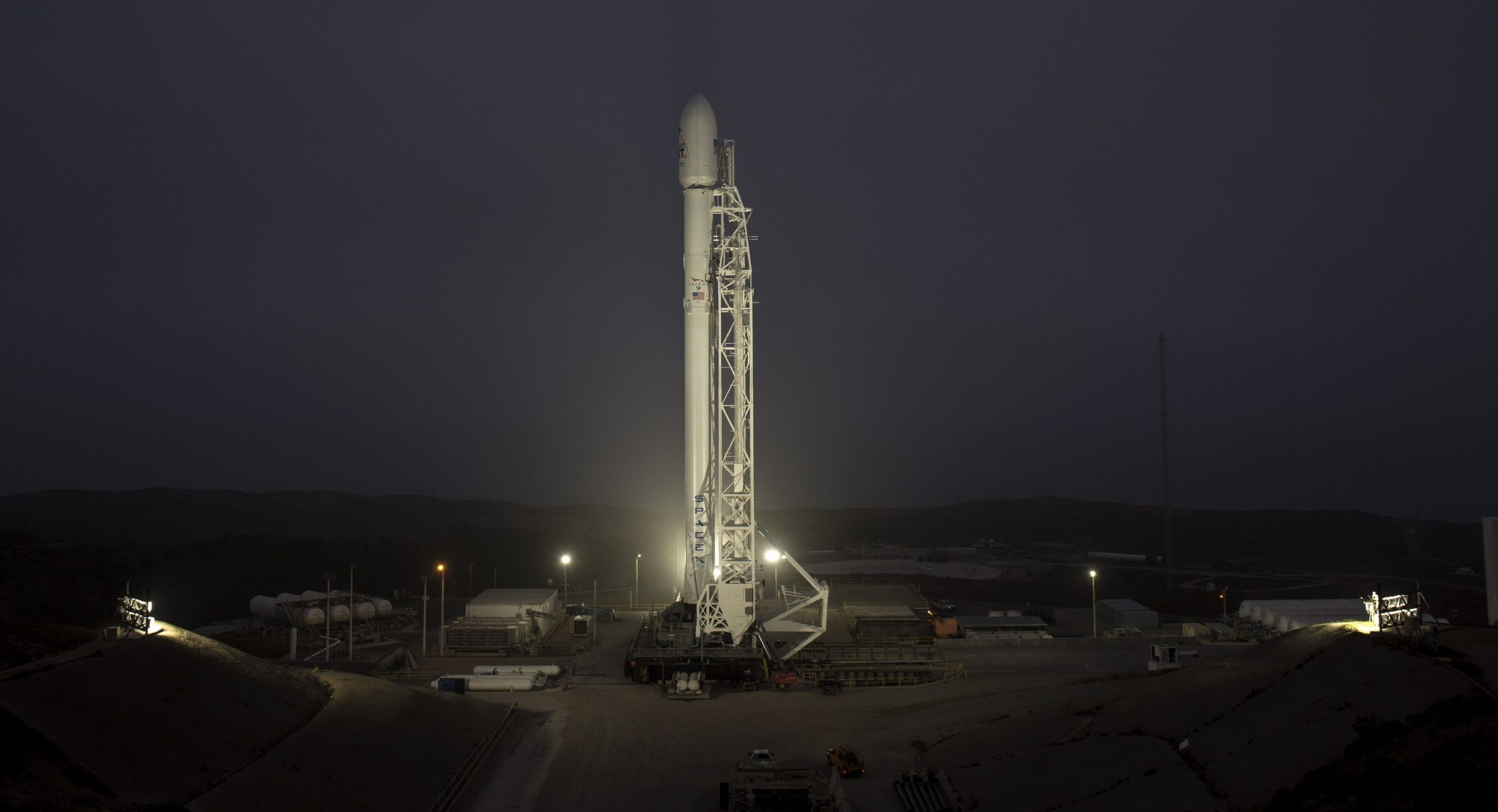 Iridium NEXT-3 preflight (SpaceX)
