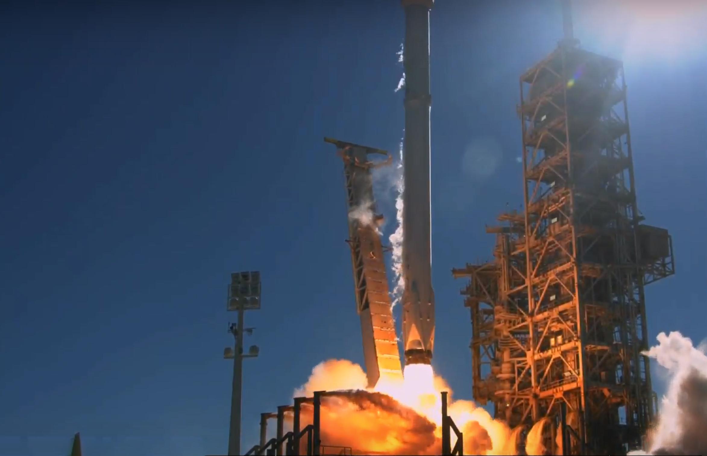 Koreasat 5A liftoff