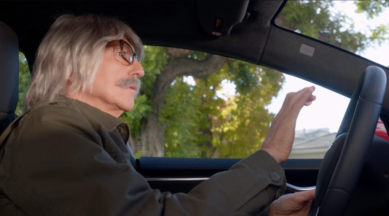 Larry David Tesla Honk Curb Your Enthusiasm