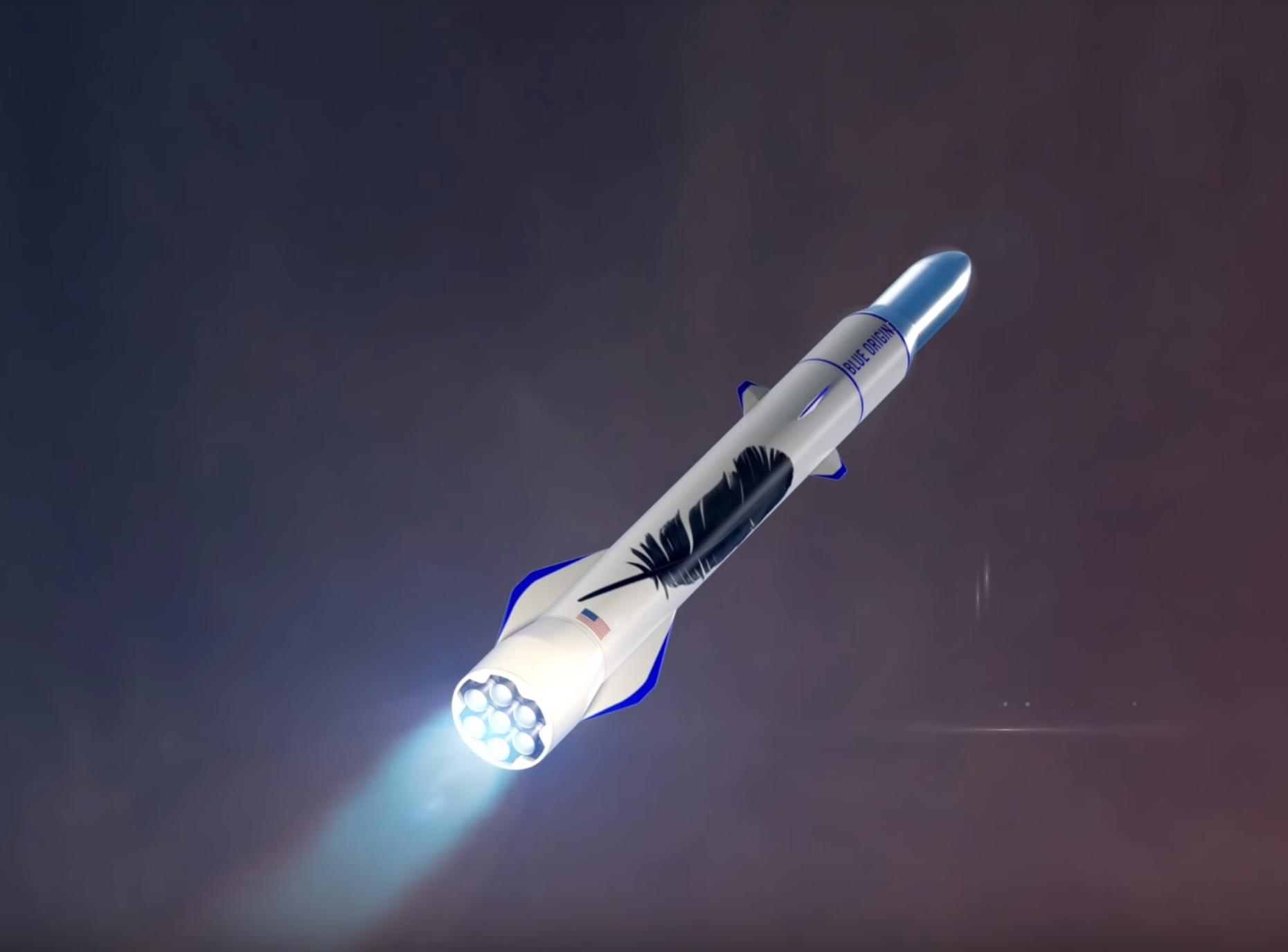 New Glenn launch (Blue Origin)