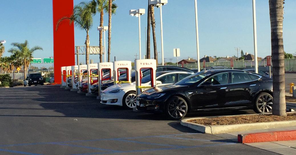 Teslas Supercharging