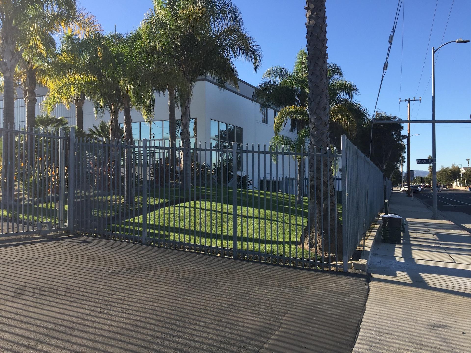 Tesla Marina Del Rey facility along Alla Rd.