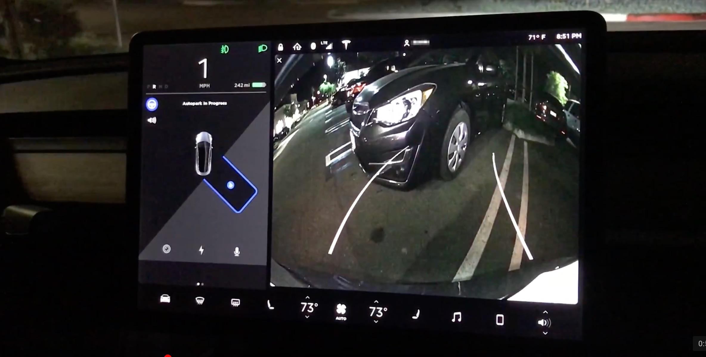 Tesla Supercharger Map 2017 >> Tesla enables 'Autopark' on Model 3 after Autopilot ...