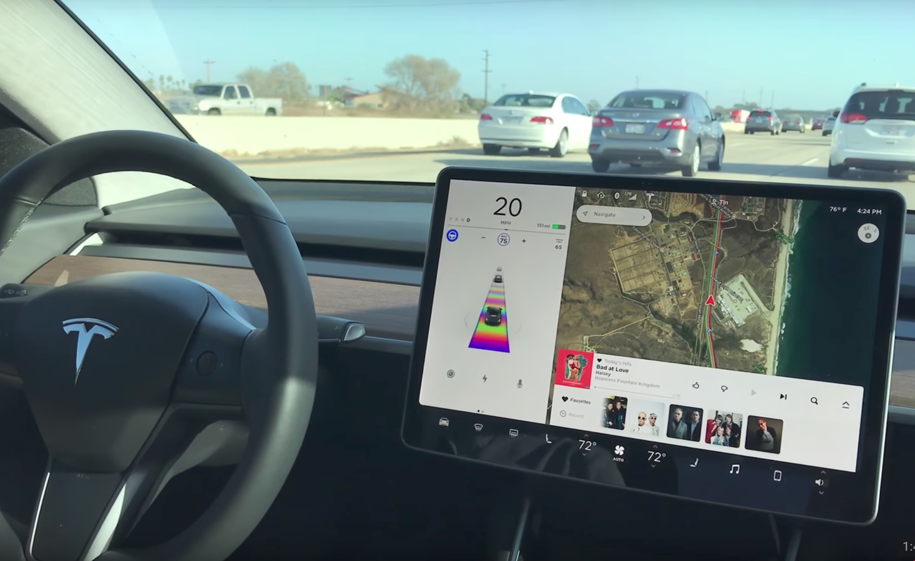 tesla-model-3-easter-egg-autopilot-tacc