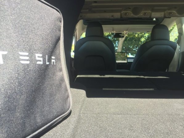 Tesla Adds Model 3 All Weather Trunk And Frunk Cargo Mat