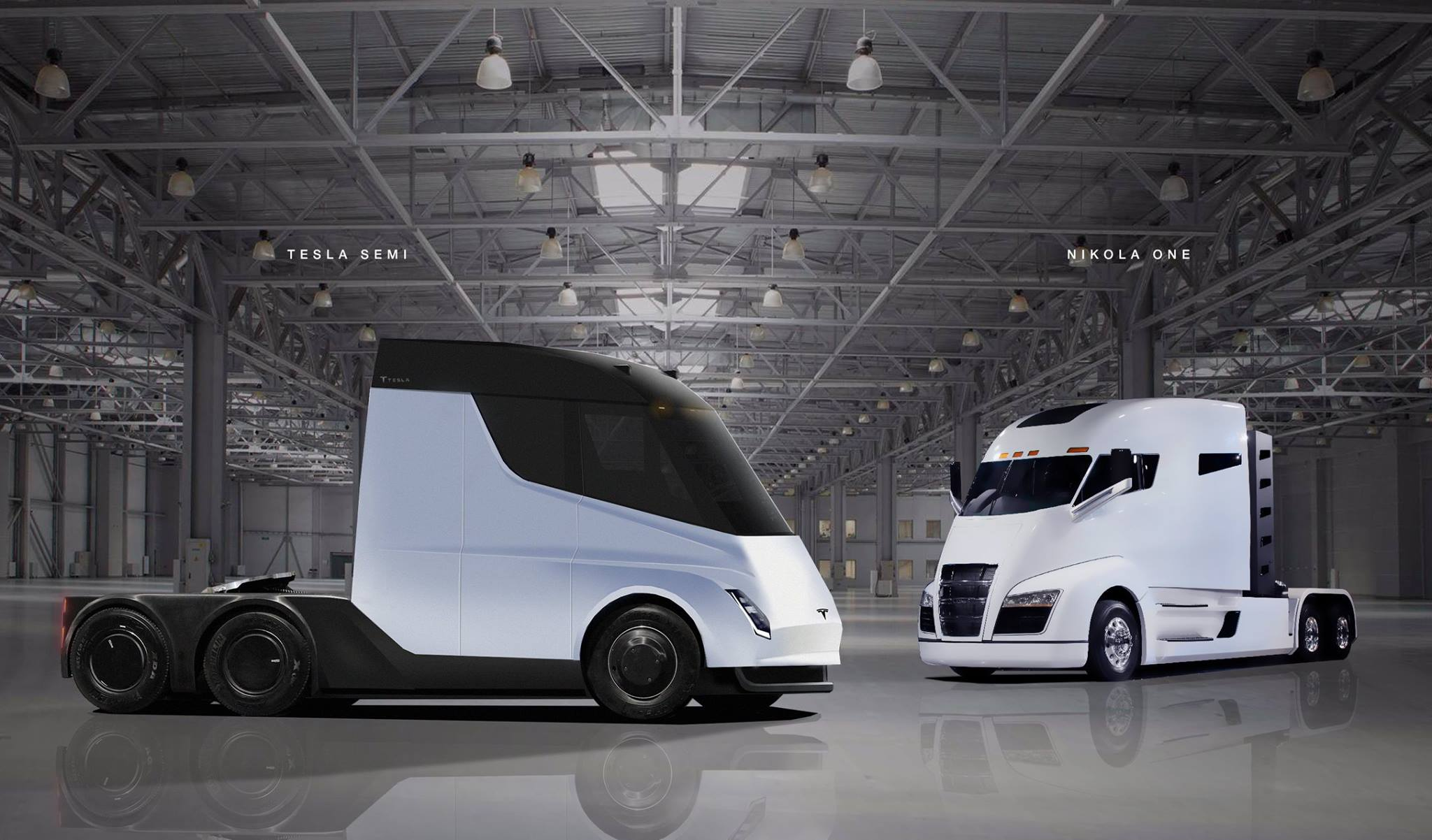 Tesla Semi Truck With Crew Cabin Brought To Life In Latest Renderings