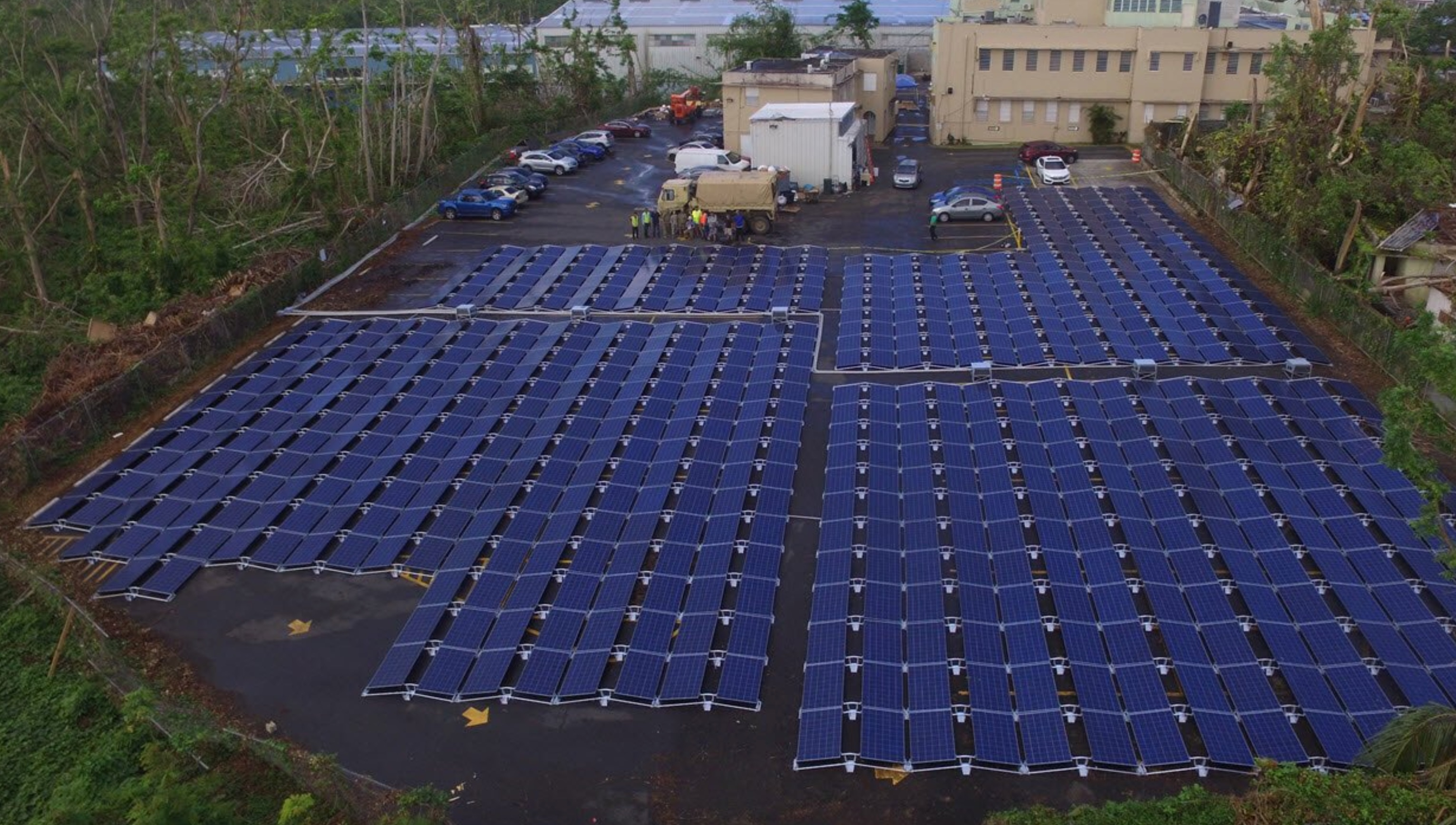 Tesla Posts First Photos Of Solar Battery Project In