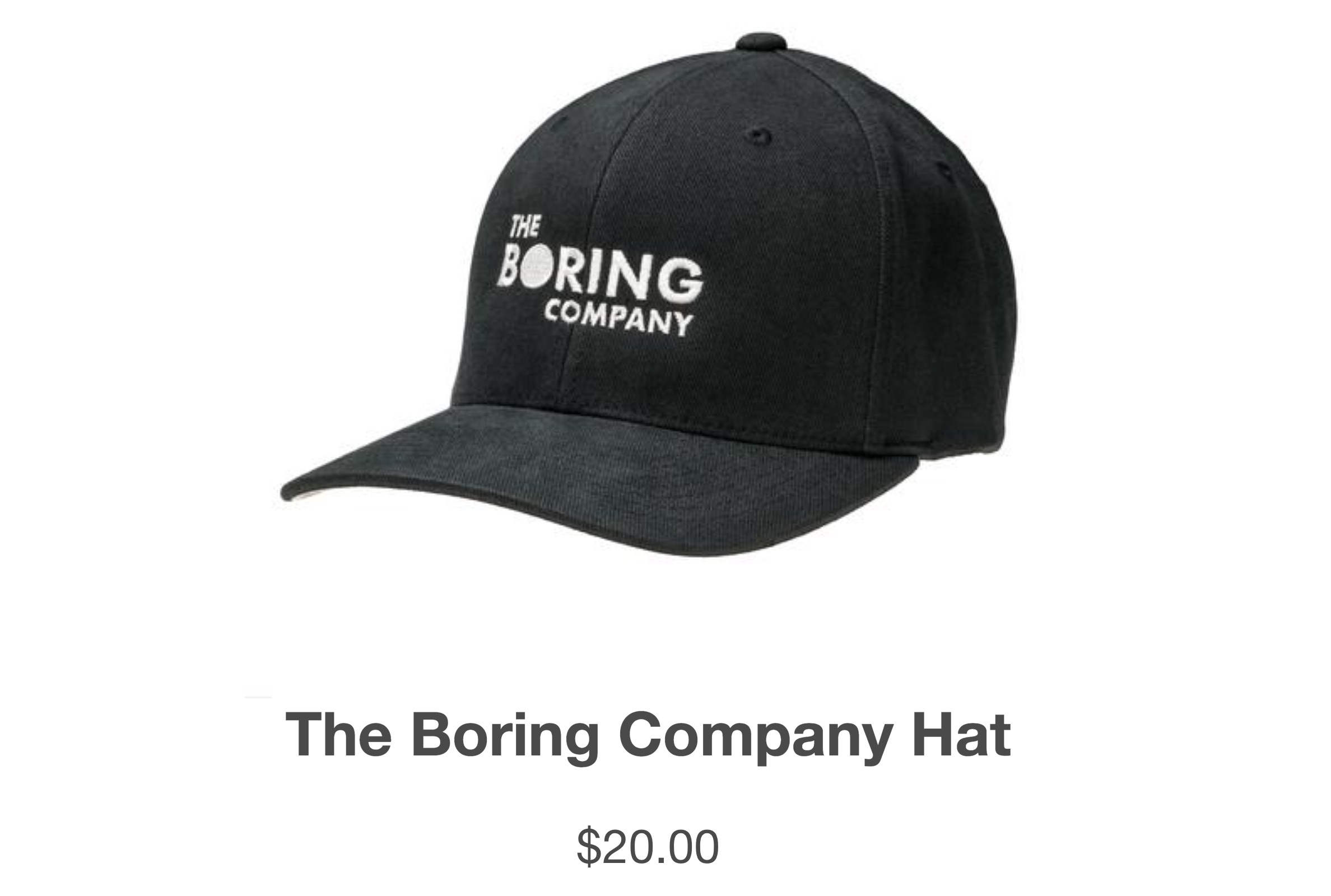 Elon Musk Sold 80k Worth Of The Boring Company Hats In