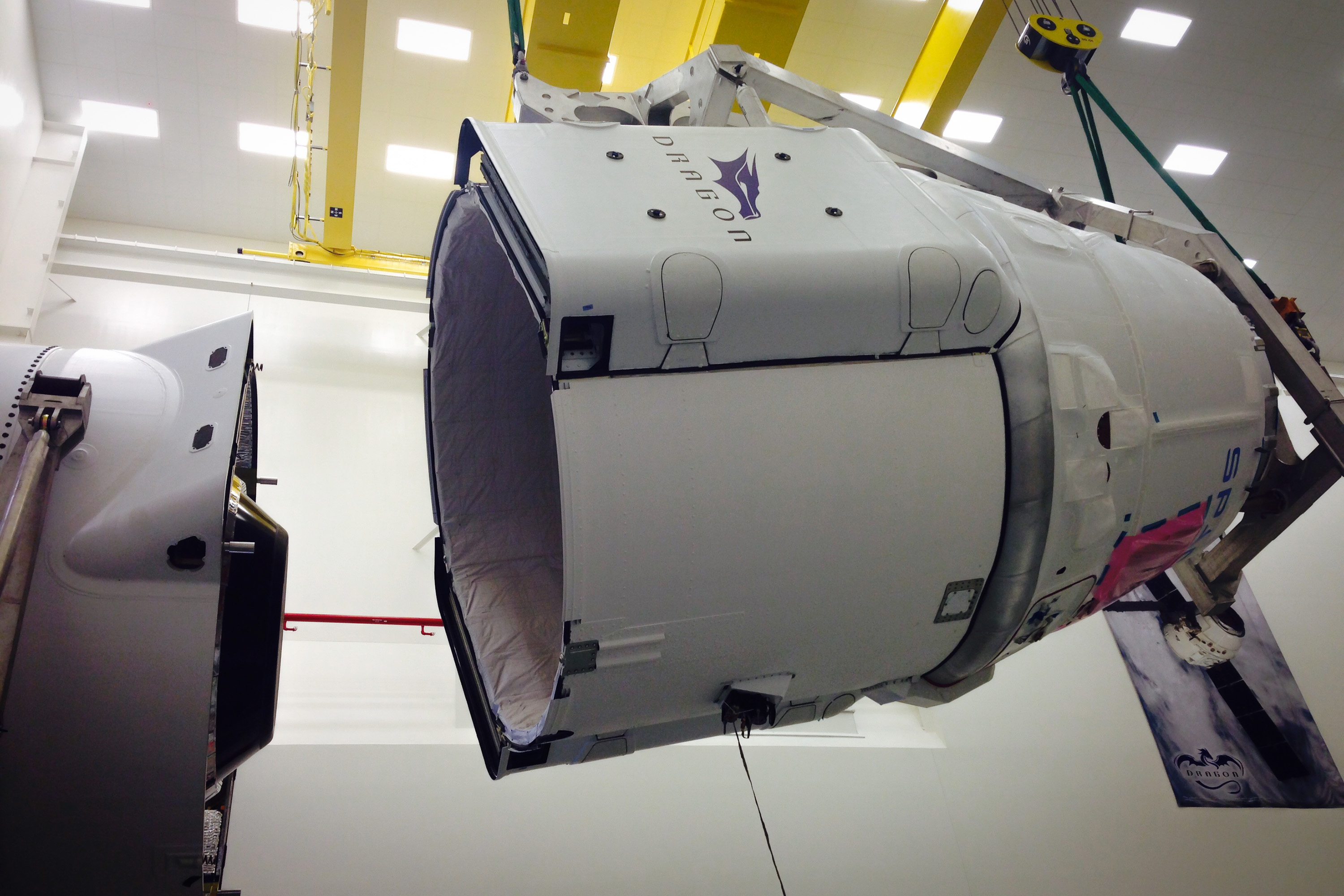 CRS-6 mating (SpaceX)
