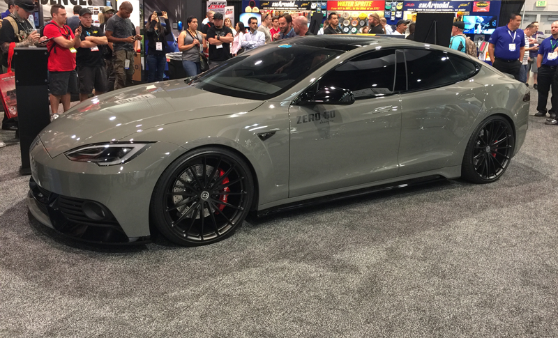 Celebrity Car Customizer Reimagines Tesla Model S With Wide Body Kit