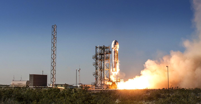 New Shepard launch (Blue Origin)