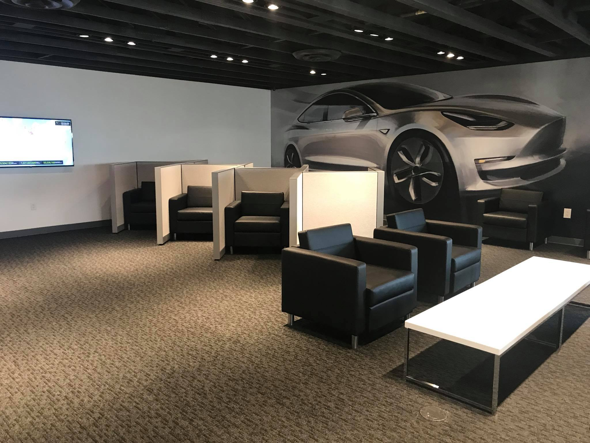 Tesla Opens Quot Mega Quot Superchargers With Lounge Food